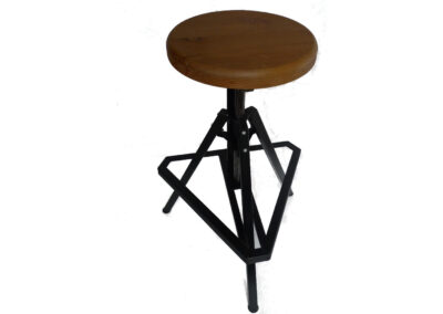 Adjustable Stool by Derek Johnston – Upper Mountains Design
