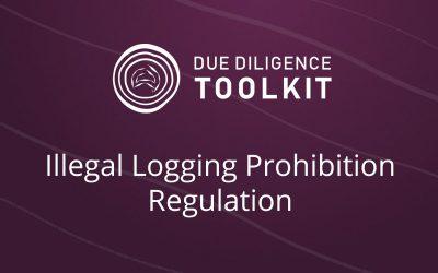 Compliance – Illegal Logging Prohibition Regulation 2014 (ILPR)